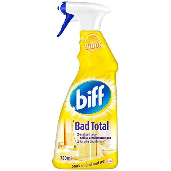 Dung dịch vệ sinh nhà tắm Biff Bad Total, xách tay Đức
