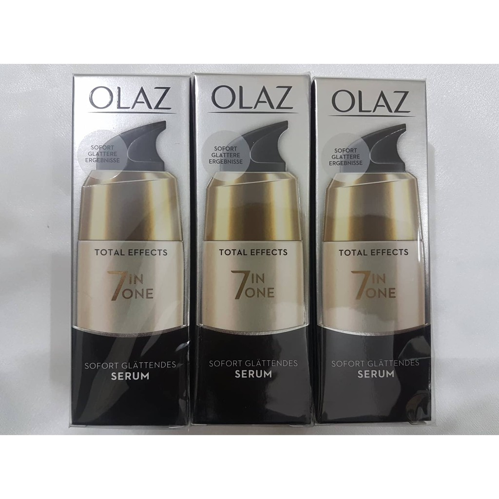 Serum Olaz Total Effects 7in1 Sofort Glattendes, xách tay Đức